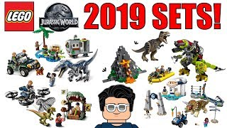 LEGO Jurassic World 2019 Sets!