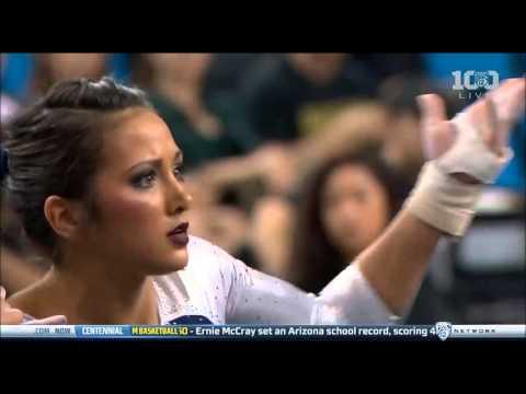 Angi Cipra (UCLA) 2016 Floor vs. Utah 9.975!