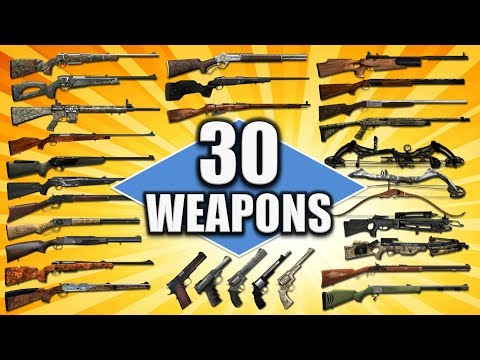 30 Weapons / 30 Animals & Make A Wish! - TheHunter Hunting Game