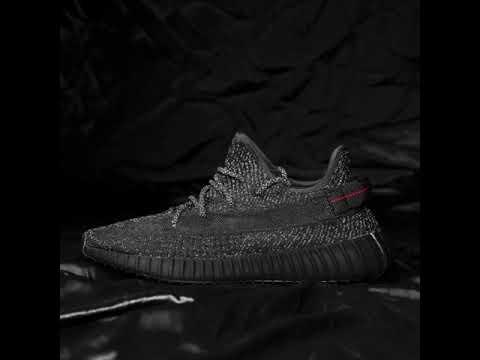 adidas yeezy boost 350 v2 black reflective