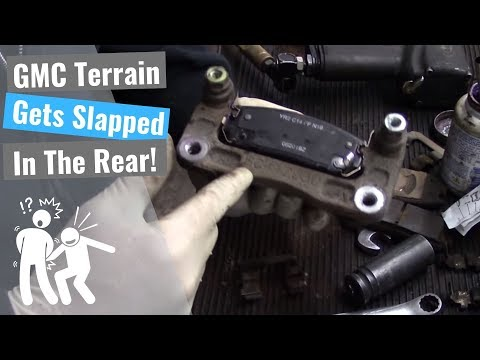 GMC Terrain: Rear Pad Slap