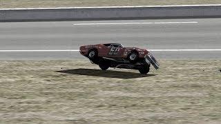 1971 Daytona 500 Maynard Troyer Flip | NR2003 Reenactment (No Video)