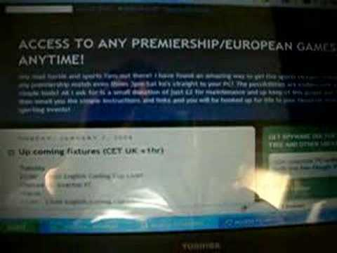 ACCESS TO ANY PREMIERSHIP/EUROPEAN GAMES ANYTIME!