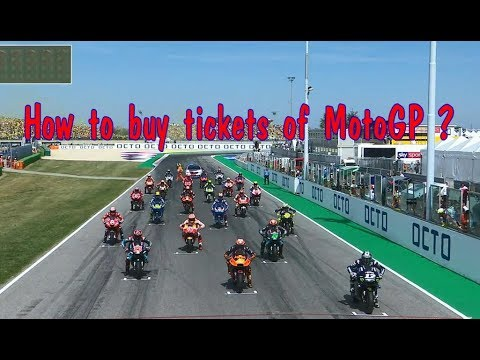 How to buy tickets of MotoGP ???