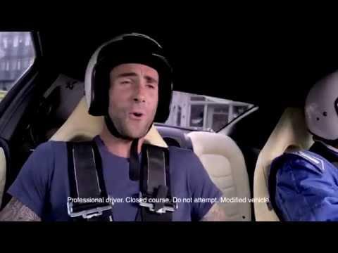 นิสสัน ช.เอราวัณ นครปฐม | Adam Levine แห่งวง Maroon 5 รับคำท้าร้องเพลงพิสูจน์ความแรงของ Nissan GTR