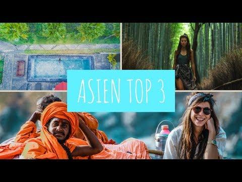 Unsere TOP 3 REISEZIELE in Asien - Diese Länder sollest du nicht verpassen! & Gewinnspiel Auflösung