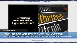 Venture Science Founding Partner Matt Oguz on Cryptocurrency Investing Fund, ICO Due Diligence