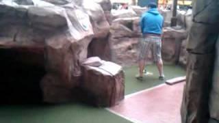 Mini-golfing @ Mall Of America