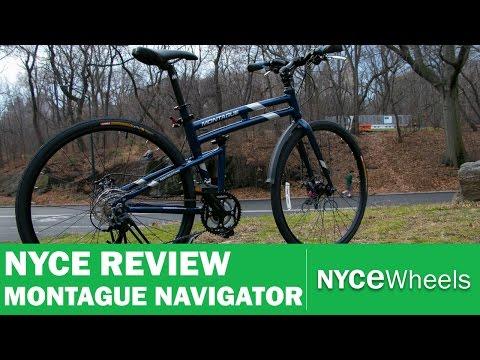 Montague Navigator - Full Sizes Hybrid Folding Bike Review