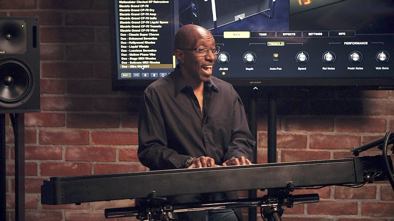 Greg Phillinganes plays 21 classic electric piano tracks using