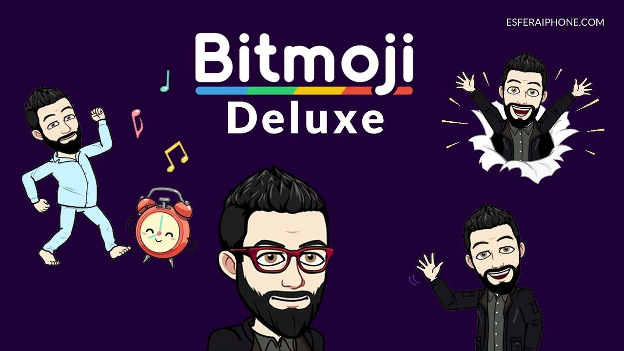 New Bitmoji Deluxe avatars