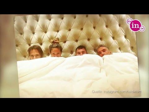 Im Bett mit Heidi! Drei Männer und eine Model-Mama