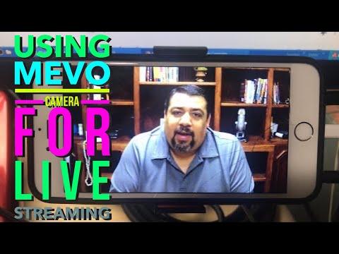 Using My MEVO Camera For LiveStreaming On YouTube
