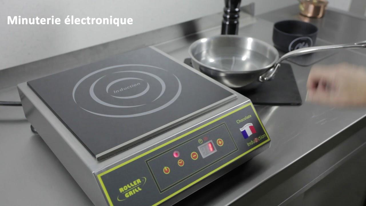 Plaque Vitrocéramique Un Feu plaque induction 1 feu portable professionnelle et électrique