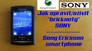 "Jak opravit/oživit ""bricknutý"" SONY/Sony Ericsson smartphone"
