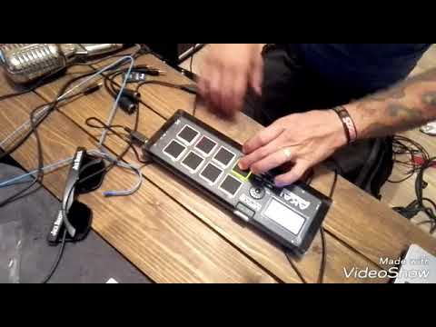 AKAI MPX8 test... First (dub)steps