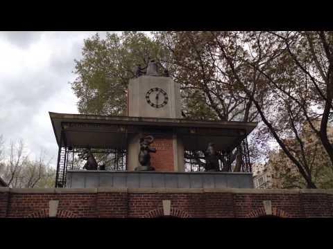 NYC Central Park Zoo Delacorte Music Clock