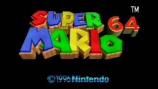 Super Mario 64 Music- Bowser's Message