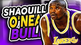 HOW TO MAKE A SHAQUILLE O'NEAL BUILD ON NBA 2K19   TOP 3 BEST CENTER BUILDS