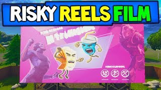 FORTNITE RISKY REELS FILM / MOVIE IS OUT NOW! | OMEGA VS CARBIDE FULL MOVIE! (REACTION + EXPLAINED)