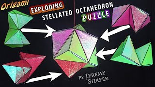 The Amazing Exploding Stellated Octahedron Puzzle