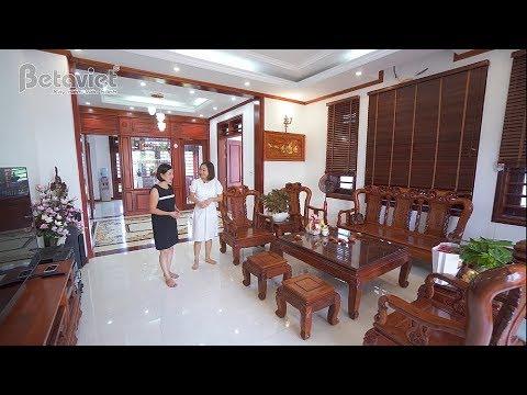Vẻ Đẹp Thanh Lịch Của Căn Biệt Thự 3 Tầng Tân Cổ Điển Bà Thùy – Thái Nguyên