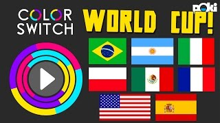 Color Switch Online! Split Challenge World Cup!