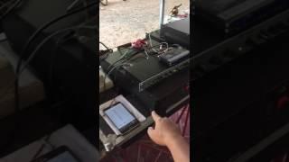 TK POWER AMP CLASS G เทสการขับข้างละ 6 ดอกของ TK3000