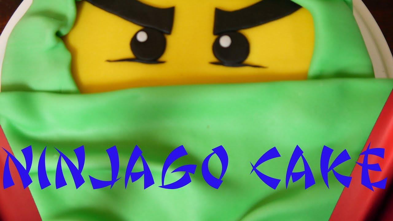 LEGO Ninjago cake Torte dekorieren backen mit Fondant Kuchen backen Chocolate cake  YouTube