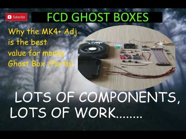 What goes into building the FCD MK4+Adj ?