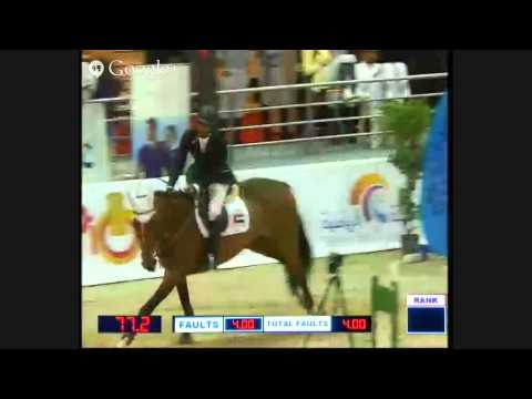 Sharjah ruler Cup International Show jumping championship CSI2* day3 part 1
