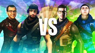 We Beat The $10,000 Tournament WINNERS! V.S. Typical Gamer & Thiefs - Fortnite Battle Royale