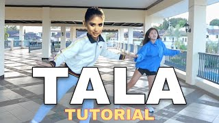 TALA BY SARAH G (DANCE TUTORIAL STEP BY STEP) CHUCKY HITS