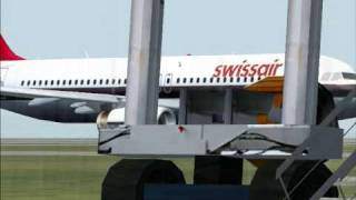 Swissair A320 Zurich Nunberg FS2004