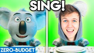SING! WITH ZERO BUDGET! (SING! Movie Parody by LANKYBOX!)