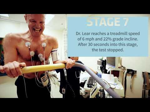 Exercise stress test with Dr. Scott Lear