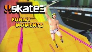 EPIC SLAM DUNKS!! - Skate 3 Online Funny Moments #2