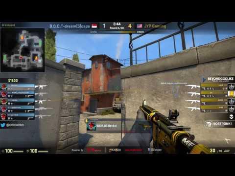 BEYONDGODLIKE CS:GO SEA League : BOOT-dream[S]cape vs JYP Gaming