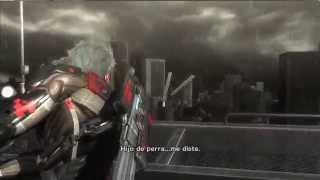 Metal Gear Rising Revengeance. Mision 5 boss: Raiden vs Sundowner