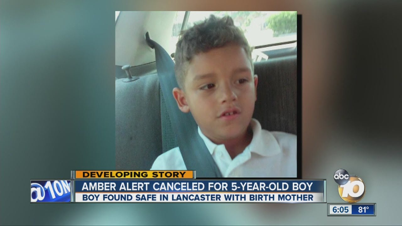Amber Alert canceled after 5-year-old UP boy found