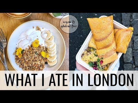 34. WHAT I ATE IN LONDON | best vegan restaurants to try!