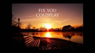 Gambar cover coldplay   fix you  mp3