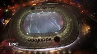 Beşiktaş şampiyonluk kutlaması Vodafone arena ve Beşiktaş Çarşı  canlı yayını 2016