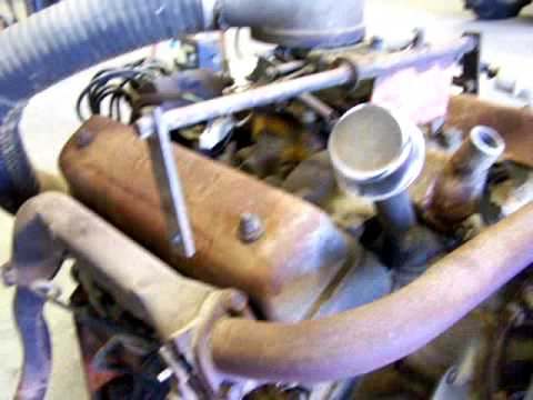 Y block ford engine 272 292 312 - YouTube
