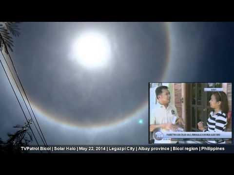 TV Patrol Bicol   May 22, 2014   Solar Halo   Philippines