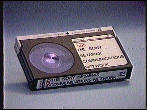 Sony Interactive SLO-325 Betamax Videotape Marketing Reel