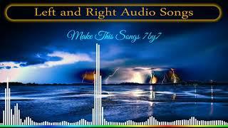 எங்க வெச்ச எங்க வெச்சேன் 🌟🎧🌟 Left and Right Echo Songs