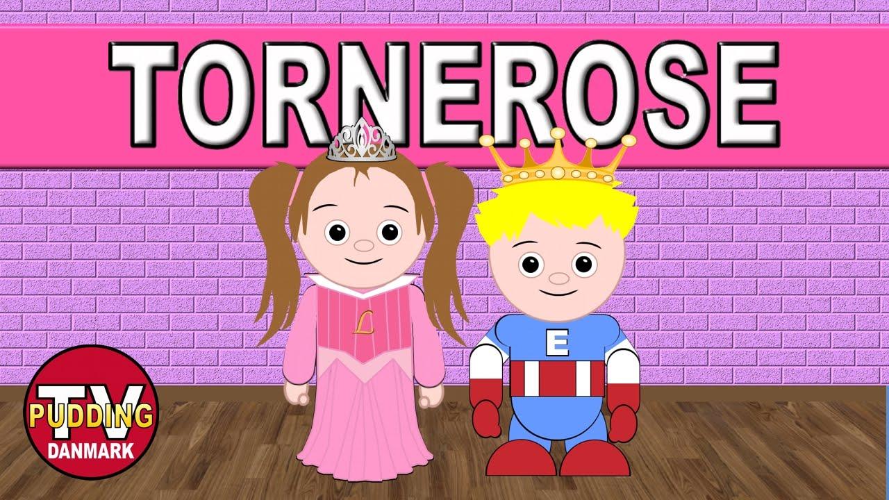Tornerose var et vakkert barn - Danske børnesange