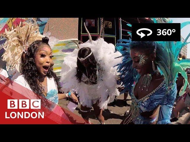 360° Video: Notting Hill Carnival 2019 - BBC London