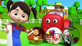 Canzoni colori | Colori dell'azienda agricola | bambini imparano i colori | Colors Of The Farm Song